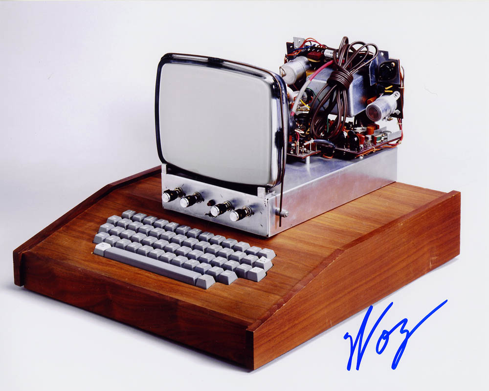 Apple I 10 x 8 Signed Photo #1