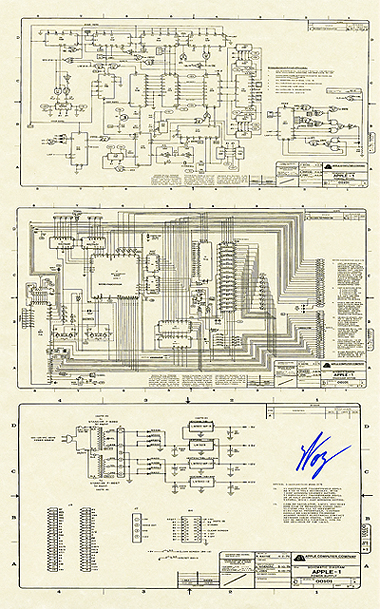 Apple I Schematic (Reproduction)