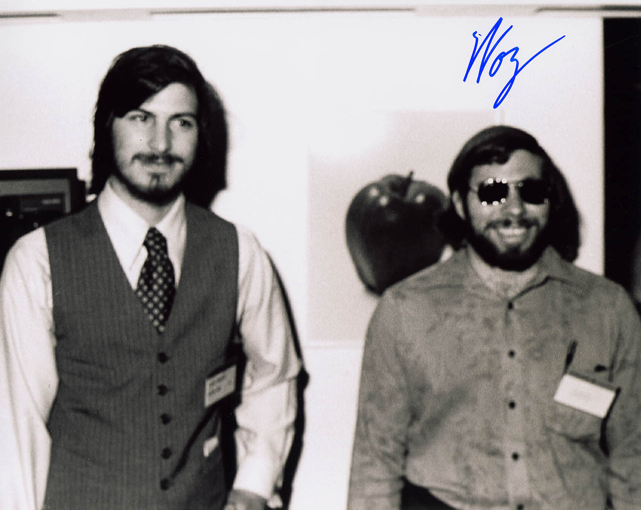 Steve Jobs and Steve Wozniak 10 x 8 Signed Photo